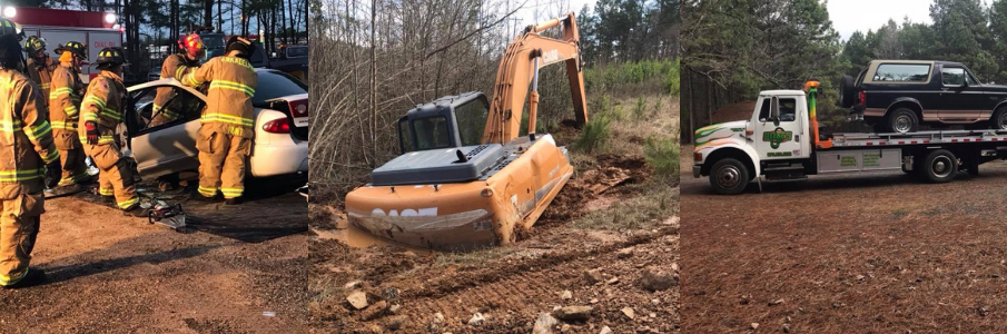 <h2 style='color:#FFFFFF !important;                                              '>Stuck In A Tight Spot? </h2>                                             <span class='slideDesc'>Whether you're stuck in a ditch or tough mud spot, we can assist you!</span>